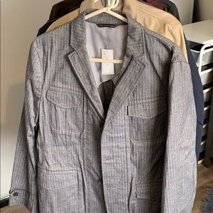 Banana Republic Zipper Blazer